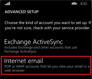 Mobile Device Email System Setup Instructions